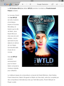 Article the wyld