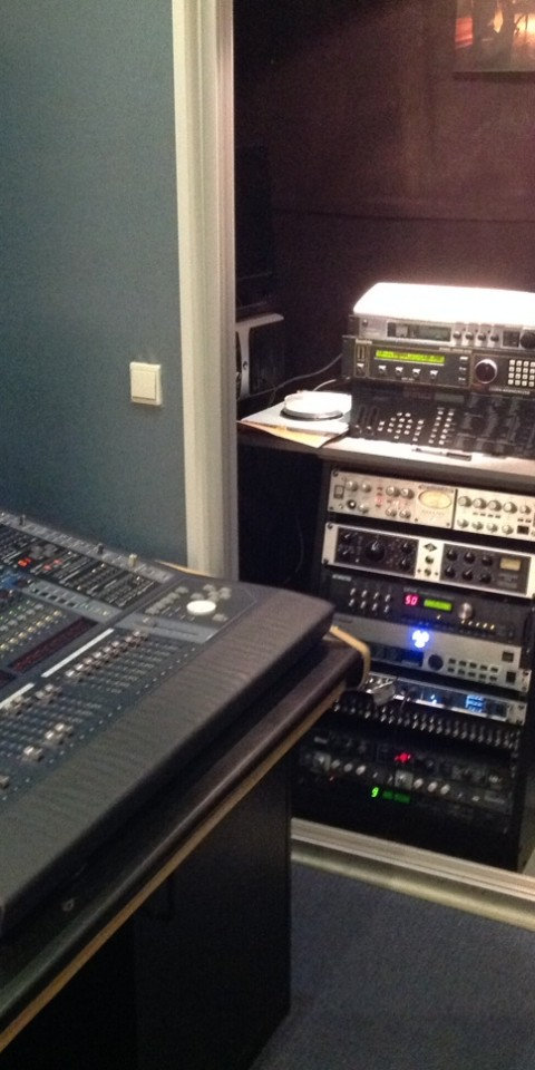 Studio A console et rack