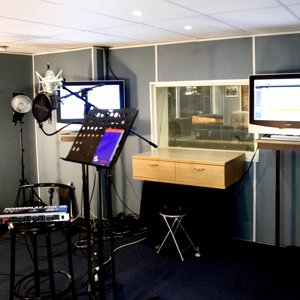 Studio A  Cabine de prises
